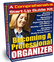 how to become a professional organizer in canada